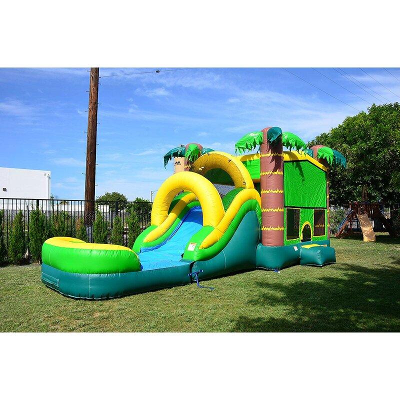 e2f76c382 JumpOrange Tropical Aloha Mega Bounce House