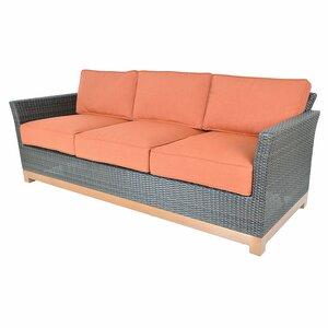 Sofa Metropolitan mit Kissen von Hazelwood Home