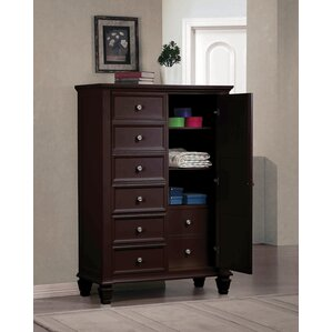 Paulina 8 Drawer Gentleman's Chest by Darby Home Co