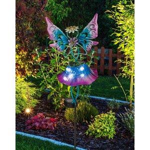 Solar Fairy Garden Stake