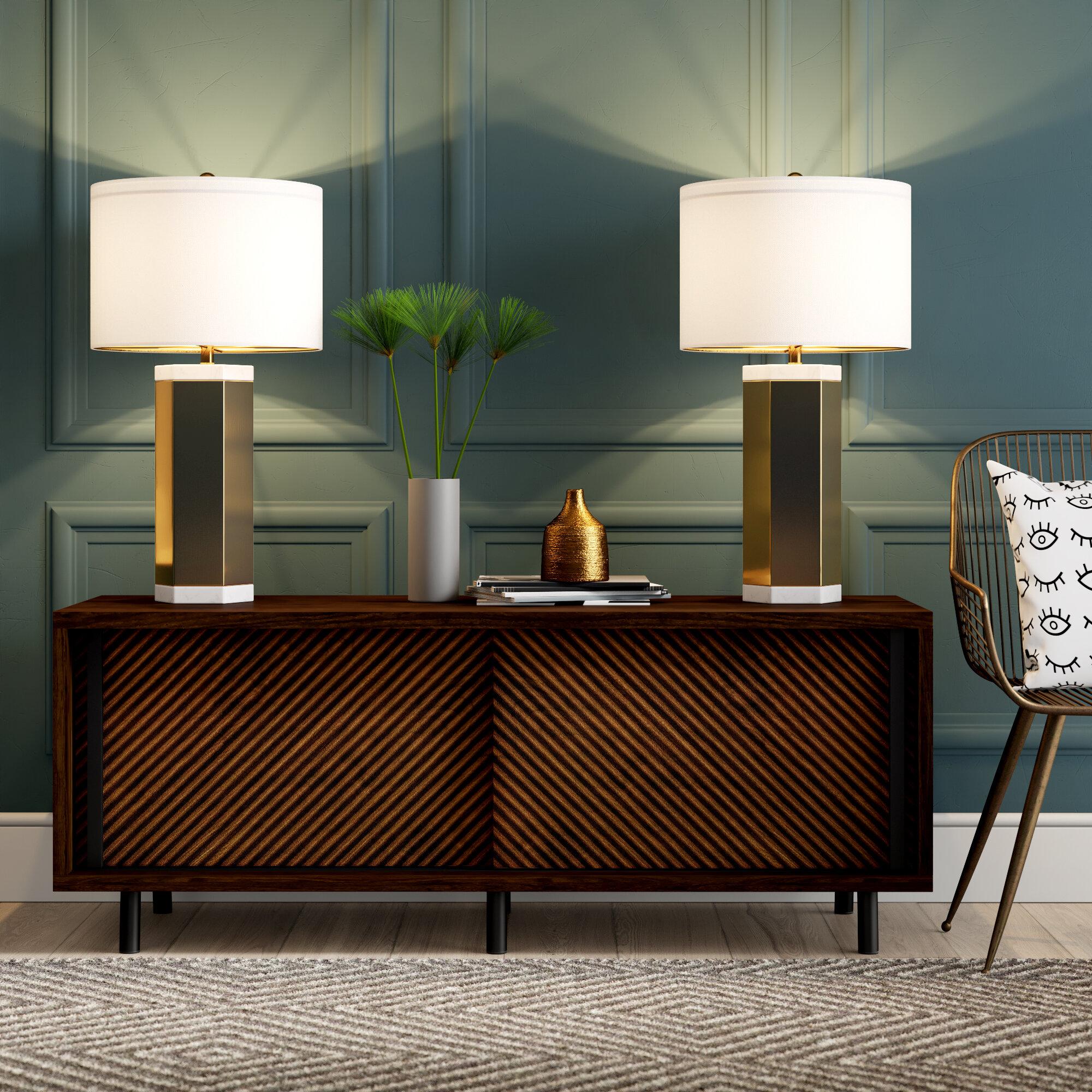 Mercury row fannin 28 table lamp reviews wayfair