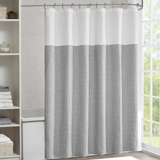 Modern Gray Silver Shower Curtains Allmodern