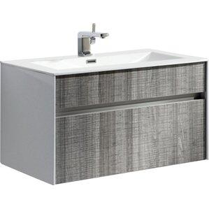 Modern Bathroom Vanity And Sink modern bathroom vanities & cabinets | allmodern