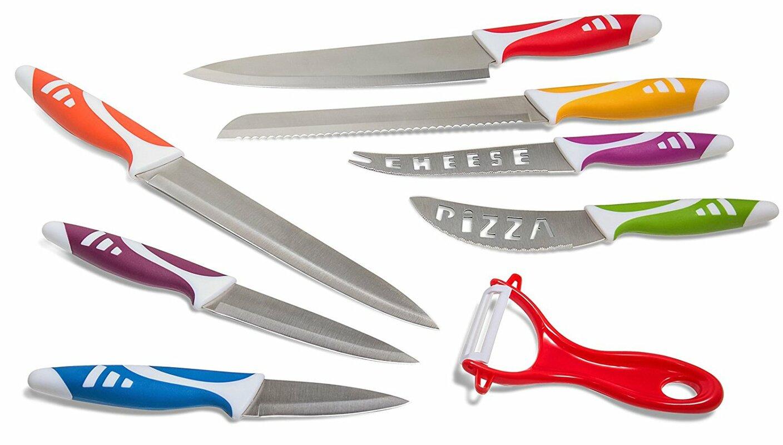 OxGord 8 Piece Professional Chef Knife & Reviews | Wayfair