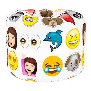 Sitzsack Emoji von Castleton Home