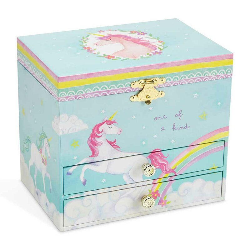 4416a1e0f4 Harriet Bee Unicorn Musical Jewelry Box & Reviews | Wayfair