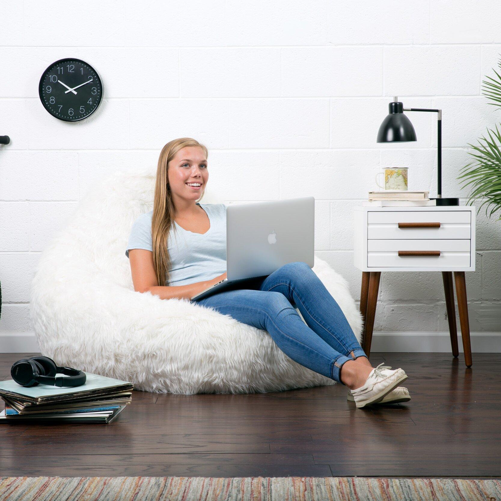 Comfort Research Big Joe Bean Bag Chair Amp Reviews Wayfair