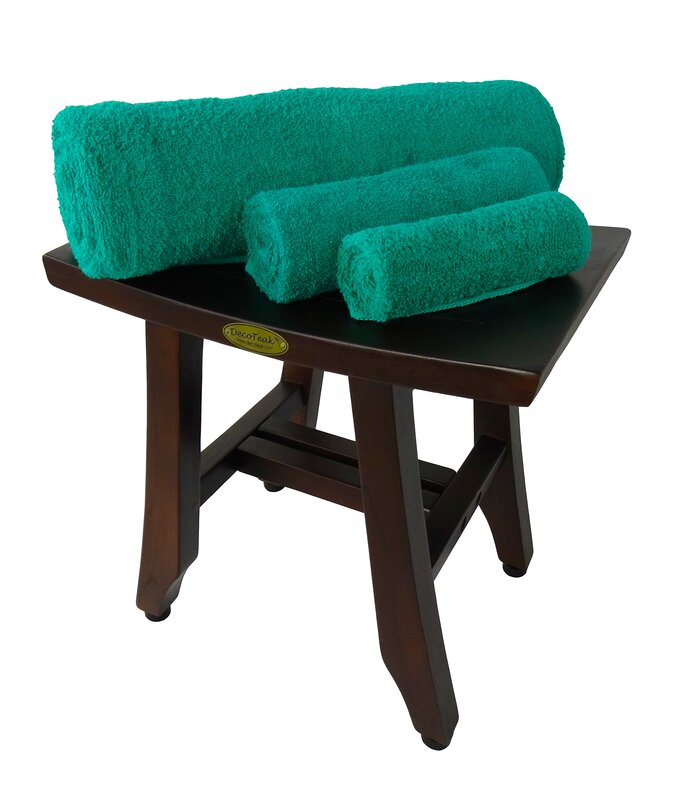 Decoteak Satori Teak Shower Seat & Reviews | Wayfair