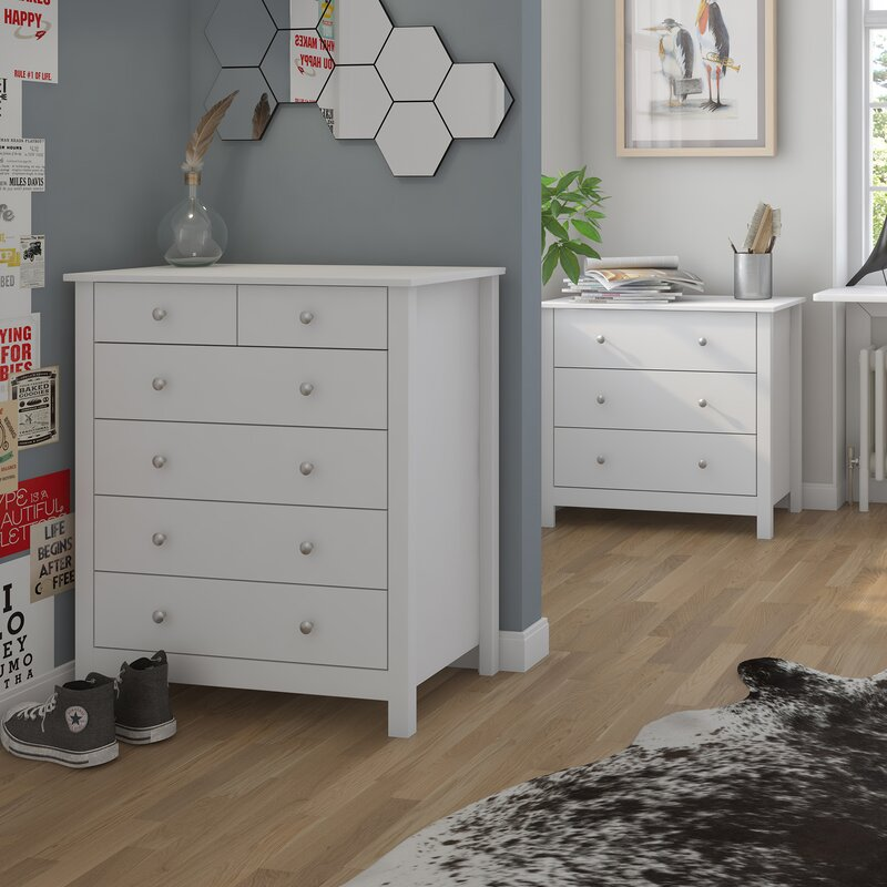 Fairmont park king 39 s lynn 6 drawer chest of drawers for Furniture kings lynn