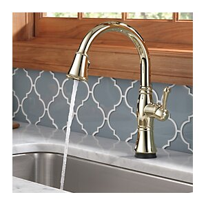 Delta Cassidy Single Handle Pull Down Kitchen Faucet with Touch2O Technology