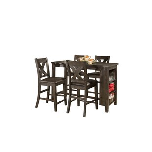 Balthrop Spencer 5 Piece Counter Height Dining Set