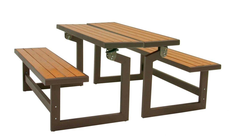 Lifetime Convertible Wood Park Bench Amp Reviews Wayfair