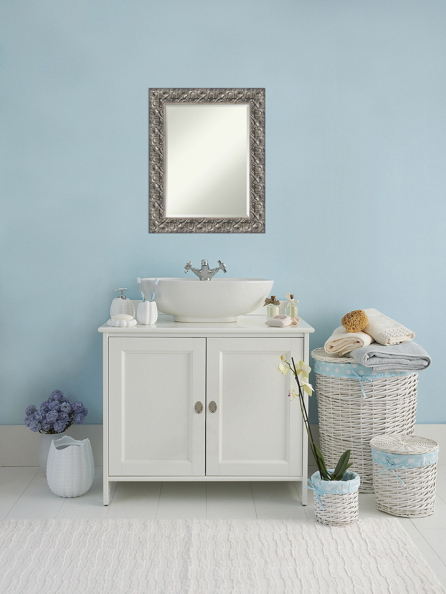 House of Hampton Mccrady Bathroom Accent Mirror | Wayfair