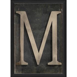 decorative letter m wayfair