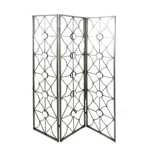 70 75 X 50 5 Mirrored 3 Panel Room Divider