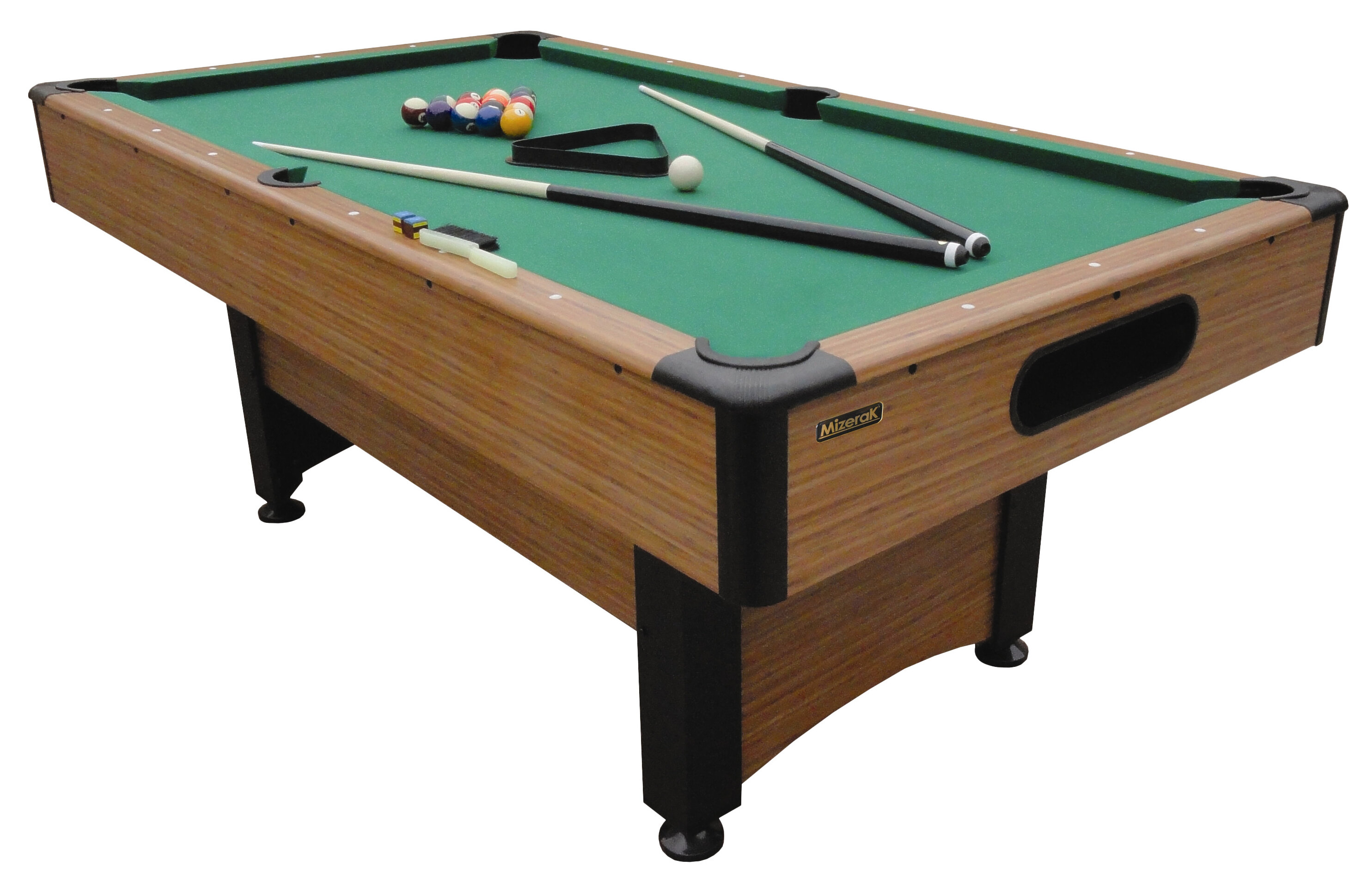 Merveilleux Mizerak Dynasty Space Saver 6.5u0027 Pool Table U0026 Accessories U0026 Reviews |  Wayfair