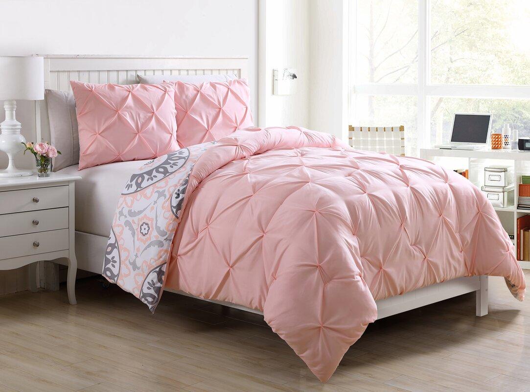 viv  rae roslyn  piece twintwin xl reversible comforter set  - roslyn  piece twintwin xl reversible comforter set