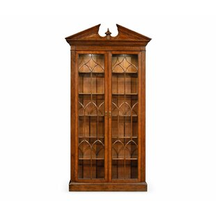 Windsor Glazed Lighted Curio Cabinet