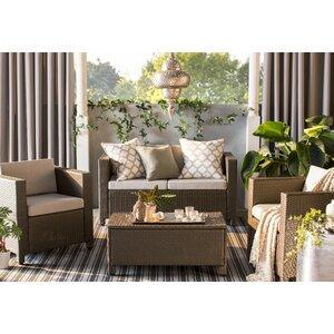 Melrose Gray Indoor/Outdoor Area Rug