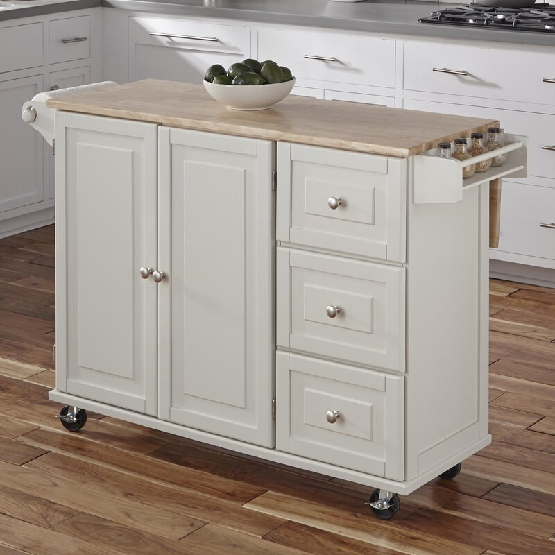 Kitchen Pictures With Islands: Andover Mills Kuhnhenn Kitchen Island & Reviews
