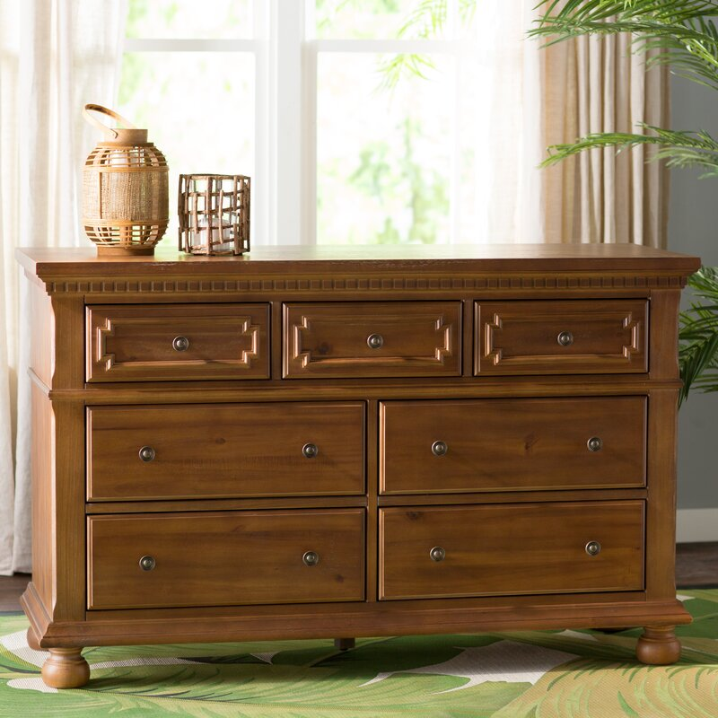 Mason 7 Drawer Double Dresser