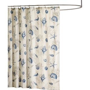 chocolate coral and gold shower curtain. Southhampton Shower Curtain Ivory  Cream Ruffled Curtains You ll Love Wayfair