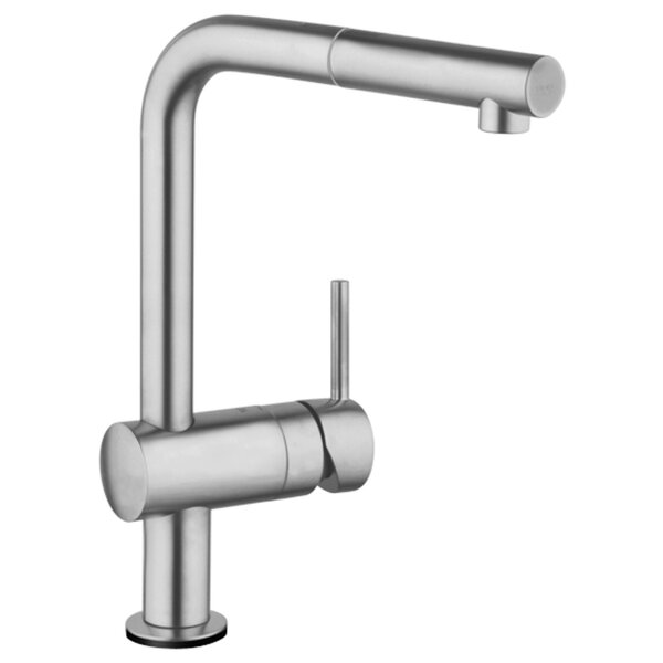 Grohe Minta Single Handle Kitchen Faucet With Side Spray And SilkMove® U0026  Reviews | Wayfair