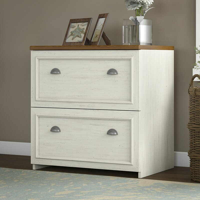 Sanroman 2 Drawer Lateral Filing Cabinet