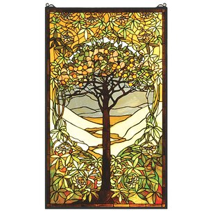 Tiffany Tree Of Life Stained Glass Window