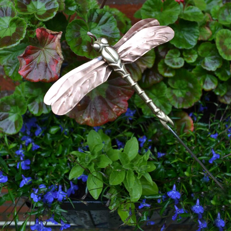 Dragonfly Garden Stake