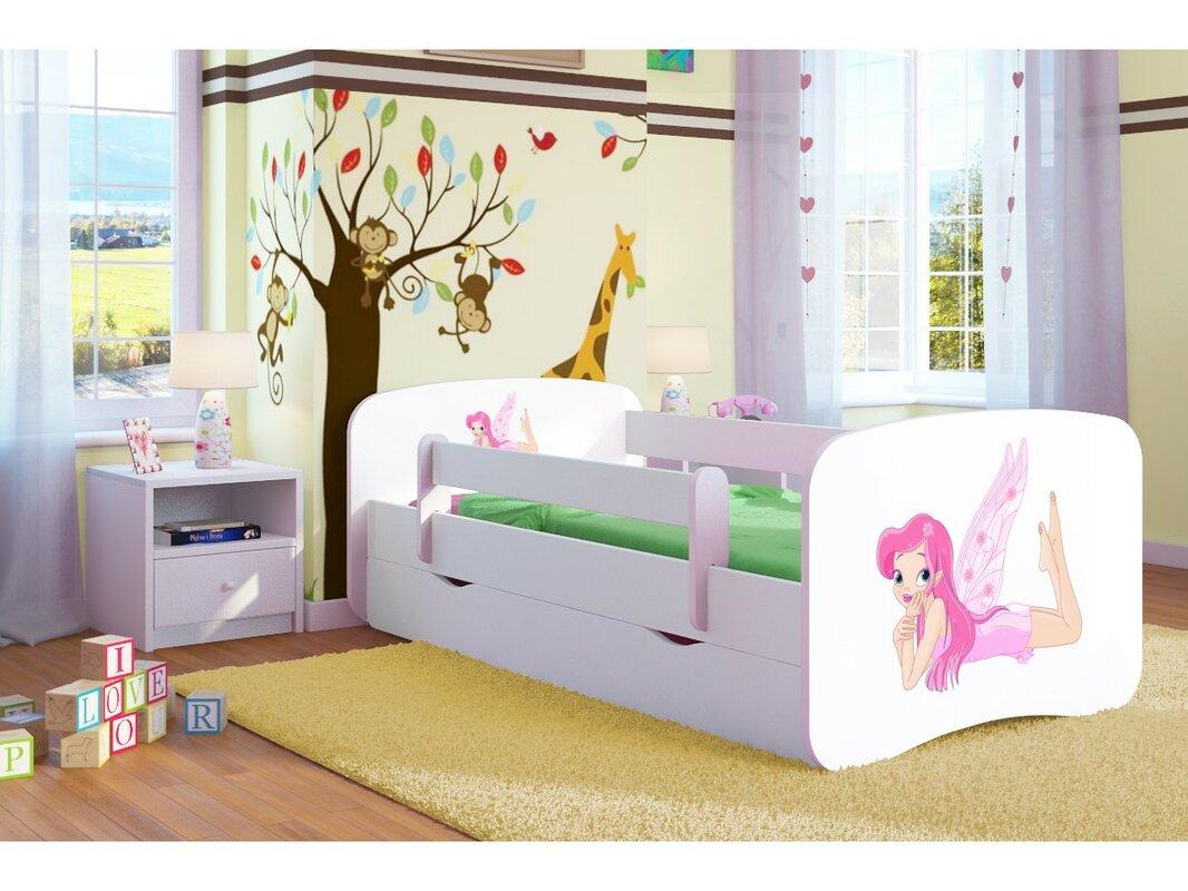 kocot kids kinderbett fairy mit matratze und schublade bewertungen. Black Bedroom Furniture Sets. Home Design Ideas