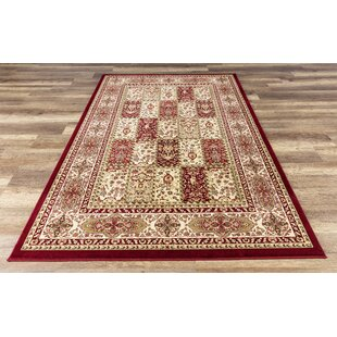 Coggrey High Quality Red Area Rug