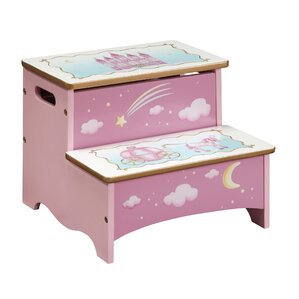 Princess Step Stool with Storage by Guidecraft