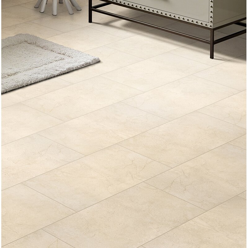 Msi Aria 24 X 24 Porcelain Tile In Glazed Natural Beige Wayfair