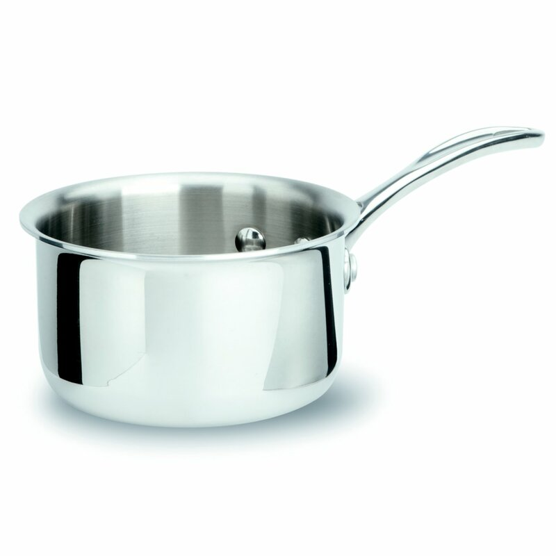 how to clean a burnt stainless steel saucepan