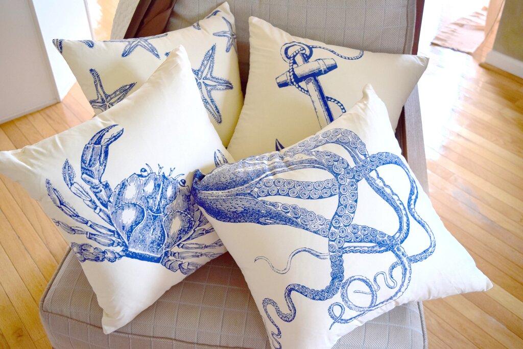 Debage Inc. Costal Starfish Throw Pillow & Reviews