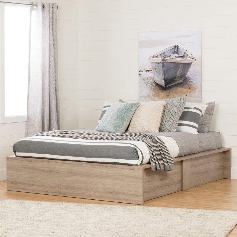 Beau Fusion Queen Storage Platform Bed