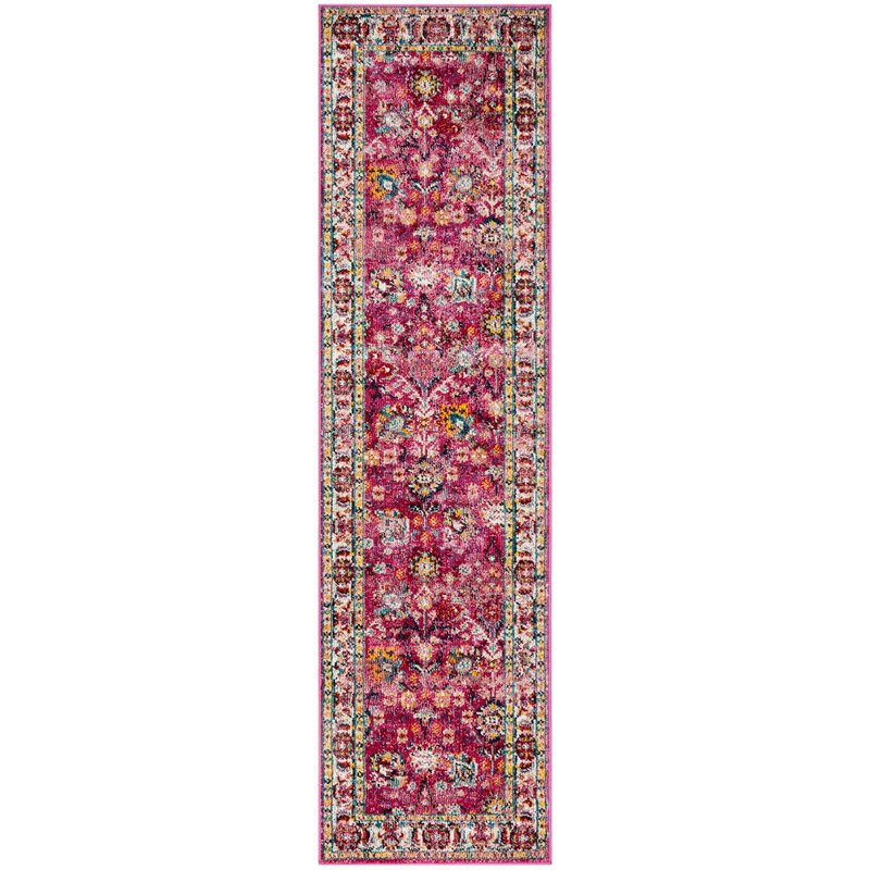 Bloomsbury Market Mcintosh Violet Area Rug, Size: Rectangle 6 x 9