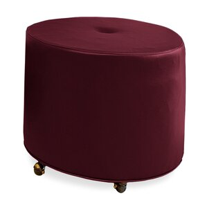 Mondo Upholstered Round 1-Button Ottoman by ..