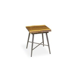Dark Mango Wood Side Table Wayfair Co Uk
