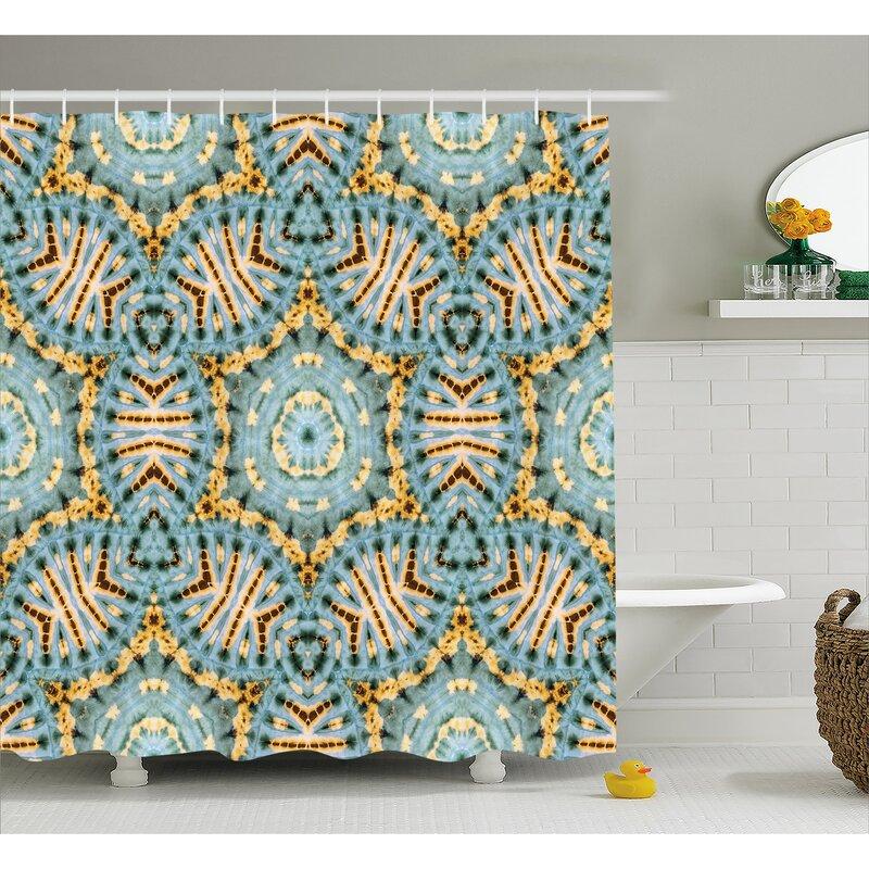 Tribal Pattern Decor Shower Curtain