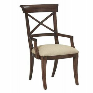 Vintage Patina Solid Wood Dining Chair by Bernhardt