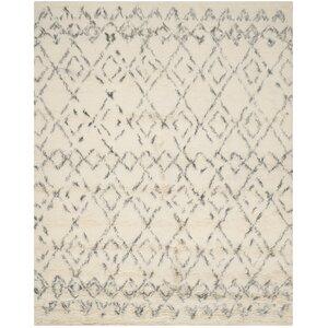 Gholston White/Grey Area Rug
