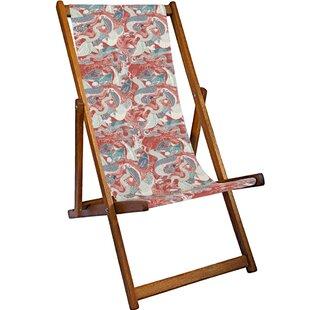 Rosalie Reclining Deck Chair by Lynton Garden