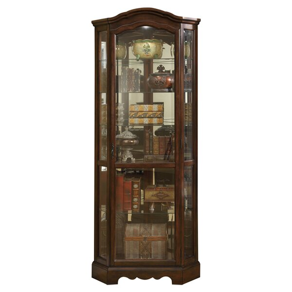 Wonderful Corner China & Curio Cabinets You'll Love | Wayfair QC91