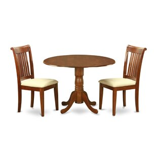 Spruill 3 Piece Dining Set