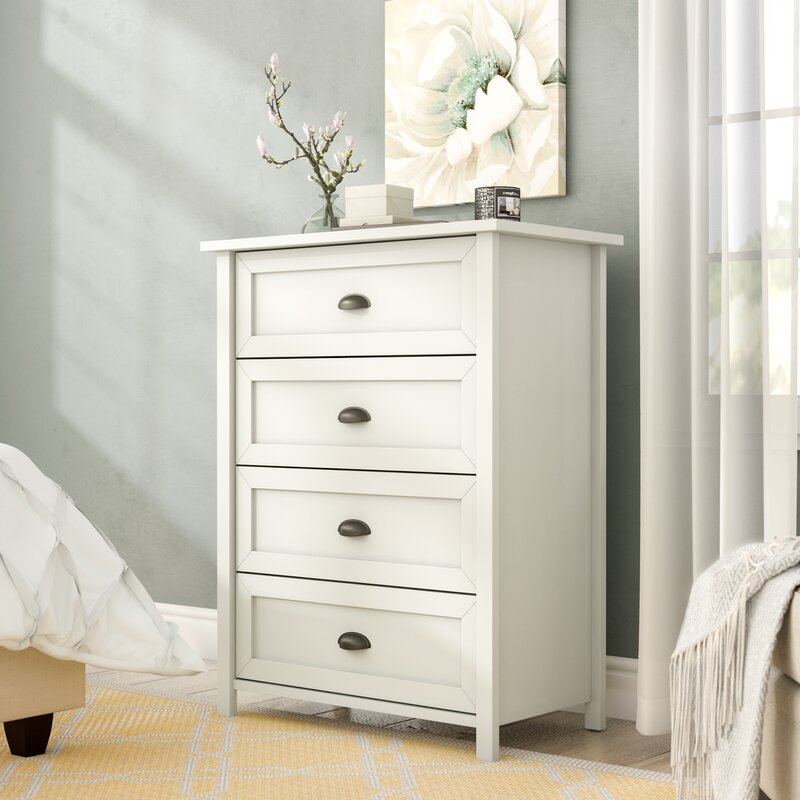 Dressers For Small Bedrooms: Andover Mills Leeds 4 Drawer Chest & Reviews