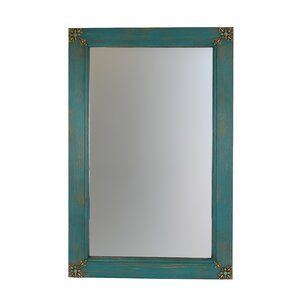Pine Wood Bathroom/Vanity Mirror