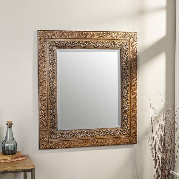 Black Metal Framed Mirror | Wayfair