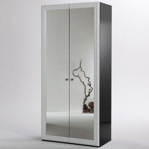 Drehtürenschrank Ludwig II, 207 cm H x 100cm B ..